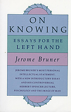 On knowing; essays for the left hand