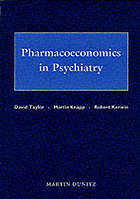 Pharmacoeconomics in psychiatry