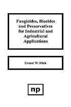 Fungicides, biocides, and preservatives for industrial and agricultural applications