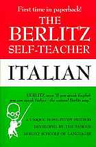 The Berlitz self-teacher: Italian