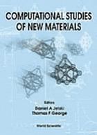 Computational studies of new materialsComputational studies of new materials