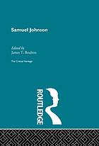 Samuel Johnson the critical heritage