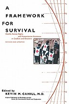 A Framework for survival : health, human rights, and humanitarian assistance in conflicts and disasters