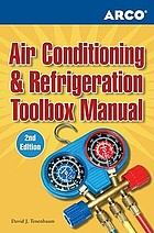 Air conditioning & refrigeration toolbox manualArco air conditioning & refrigeration toolbox manual