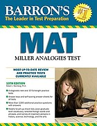 Barron's MAT : Miller Analogies Test