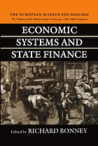 Economic systems and state finance