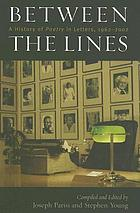 Between the lines : a history of Poetry in letters