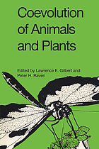 Coevolution of animals and plants : Symposium V, First International Congress of Systematic and Evolutionary Biology, Boulder, Colorado, August, 1973 : [papers]