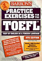 Practice exercises for the TOEFL test