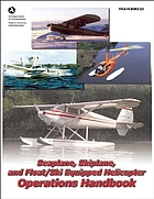 Seaplane, skiplane, and float/ski equipped helicopter operations handbook, FAA-H-8083-23