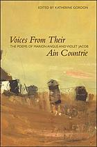 Voices from their ain countrie : the poems of Marion Angus and Violet Jacob