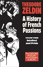 France, 1848-1945 : intellect & pride