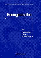 Homogenization : in memory of Serguei Kozlov