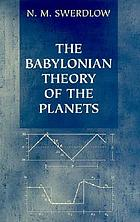 The Babylonian theory of the planets