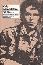 Osip Mandelstam : poems