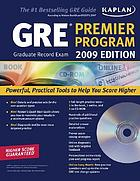 GRE exam : premier program