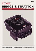 Clymer Briggs & Stratton L-head engines