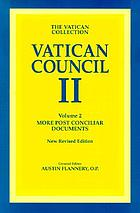 Vatican Council II, more postconciliar documents Documents of Vatican II. : a new authoritative translation of the conciliar documents -- including Post Conciliar papers and commentaries Vatican Council II, the conciliar and post conciliar documents