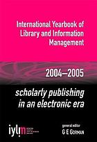 Scholarly publishing in an electronic era