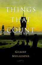 Things that count : essays moral and theological
