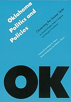 Oklahoma politics & policies : governing the Sooner State