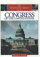 The young Oxford companion to the Congress of the United States