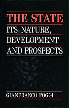 The state : its nature, development, and prospects