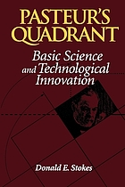 Pasteur's quadrant : basic science and technological innovation