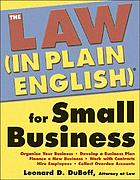 The law (in plain English) for small business