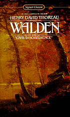 Walden : or, Life in the woods : and, On the duty of civil disobedience
