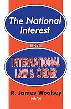 The National Interest on international law and order