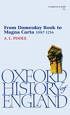From Domesday book to Magna Carta, 1087-1216