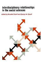 Interdisciplinary relationships in the social sciences.