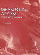Measuring access to learning opportunities