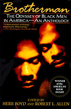 Brotherman : the odyssey of black men in America
