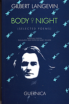 Body of night : selected poems