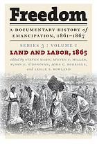 Land and labor, 1865