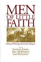 Men of little faith : selected writings of Cecelia Kenyon