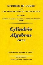 Cylindric algebras