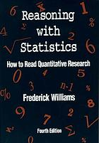 Reasoning with statistics : how to read quantitative research