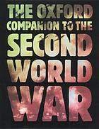 The Oxford companion to World War IIThe Oxford companion to the Second World War