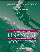 Working papers to accompany Financial accounting : tools for business decision making