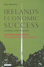 Ireland's economic success : reasons and lessons