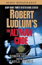 The Altman code [a covert-one novel]
