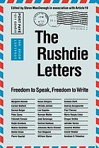 The Rushdie letters : freedom to speak, freedom to write