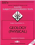Subject examination in-- geology : questions and answers
