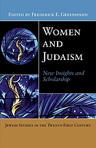 Women and Judaism : new insights and scholarship