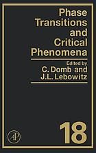 Phase transitions and critical phenomena : vol. 12