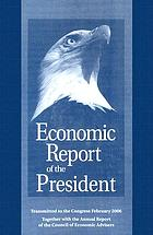 Economic report of the President : transmitted to the Congress January 1993 : together with the annual report of the Council of Economic Advisers