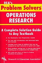 The Operations research problem solver